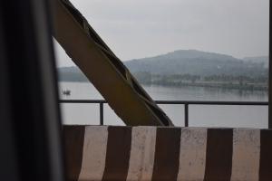 over the Amona bridge
