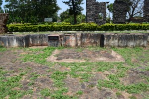 sections of the fort