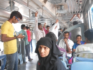 In the Hyderabad local