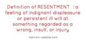 resentment 1