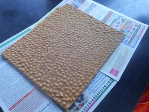 The Brick of Chikki laid out