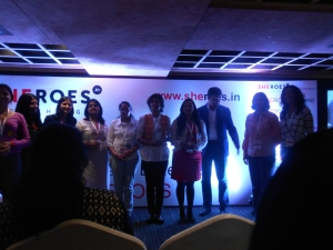 the sheroes line up