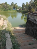 Madhva sarovara near the Ganapathi temple