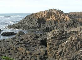 Hexagon-- Giant causeway  Ireland--image courtsey internet