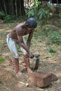 stone cutter-- Photograph Jahnavi Koushik