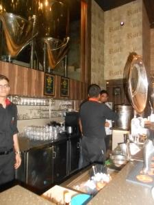 Inside strikers brewery