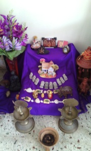Bombe Habba-- display by Dr.Tanvi M.D.