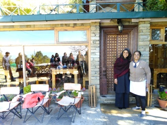 The writers at the retreat with the hostess Pallavi. Image courtesy Kriti Dalal.