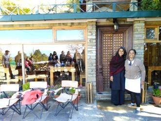 The writers at the retreat with the hostess Pallavi. Image courtesy Kriti Dalal.