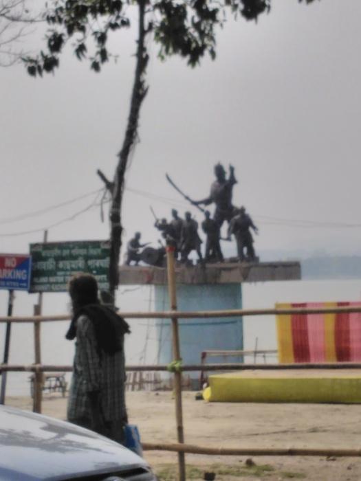 Guwahati banks of Brahmaputra
